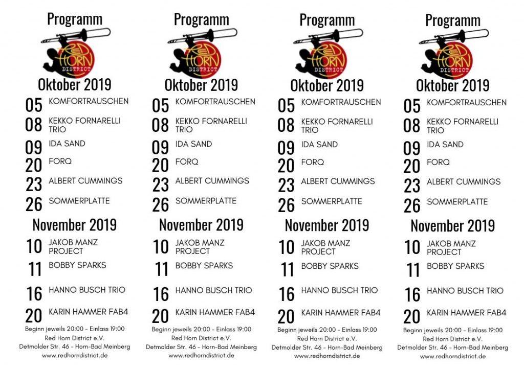 4xA4 - RHD-Programm - Okt-Nov-2019
