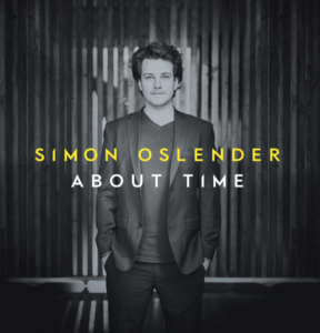 CD COVER ABOUT TIME - Simon Oslender
