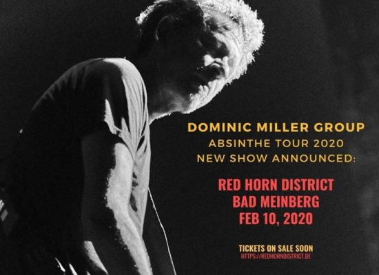 Dominic Miller Group - Red Horn District 2020