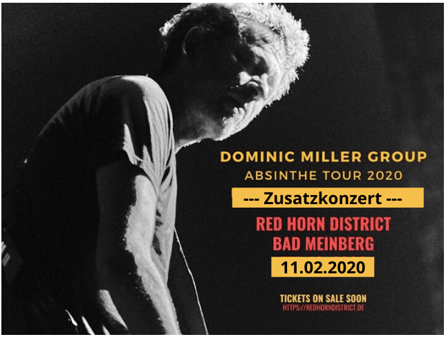 Dominic Miller Group - 11-02-20 - Red Horn District