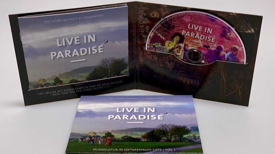 "RED HORN DISTRICT SAMPLER Vol. 1 - ""LIVE IN PARADISE"""