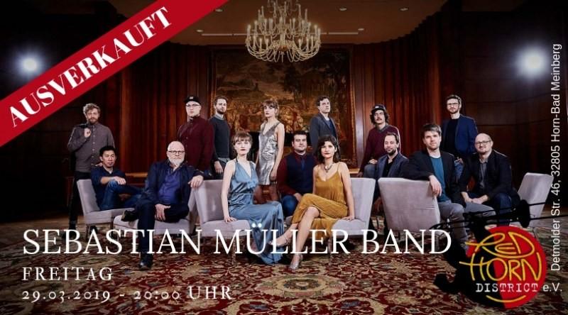 RedHornDistrict - Sebastian Müller Band