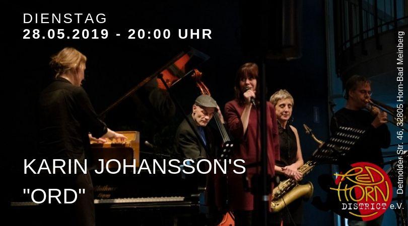 "Karin Johansson's ""ORD"" - Red Horn Distric - Horn-Bad Meinberg"