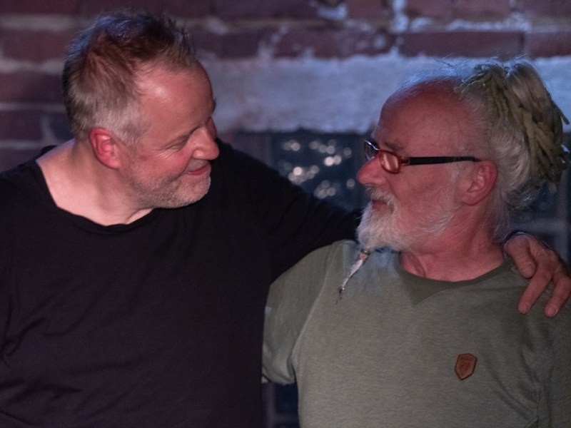 Wolfgang Haffner & Jörg Thienelt - Red Horn District 12-05-2019