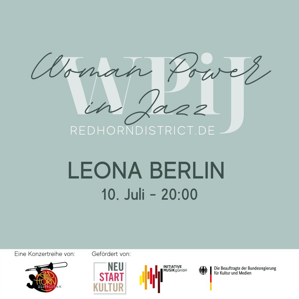 Women in Jazz - Leona Berlin