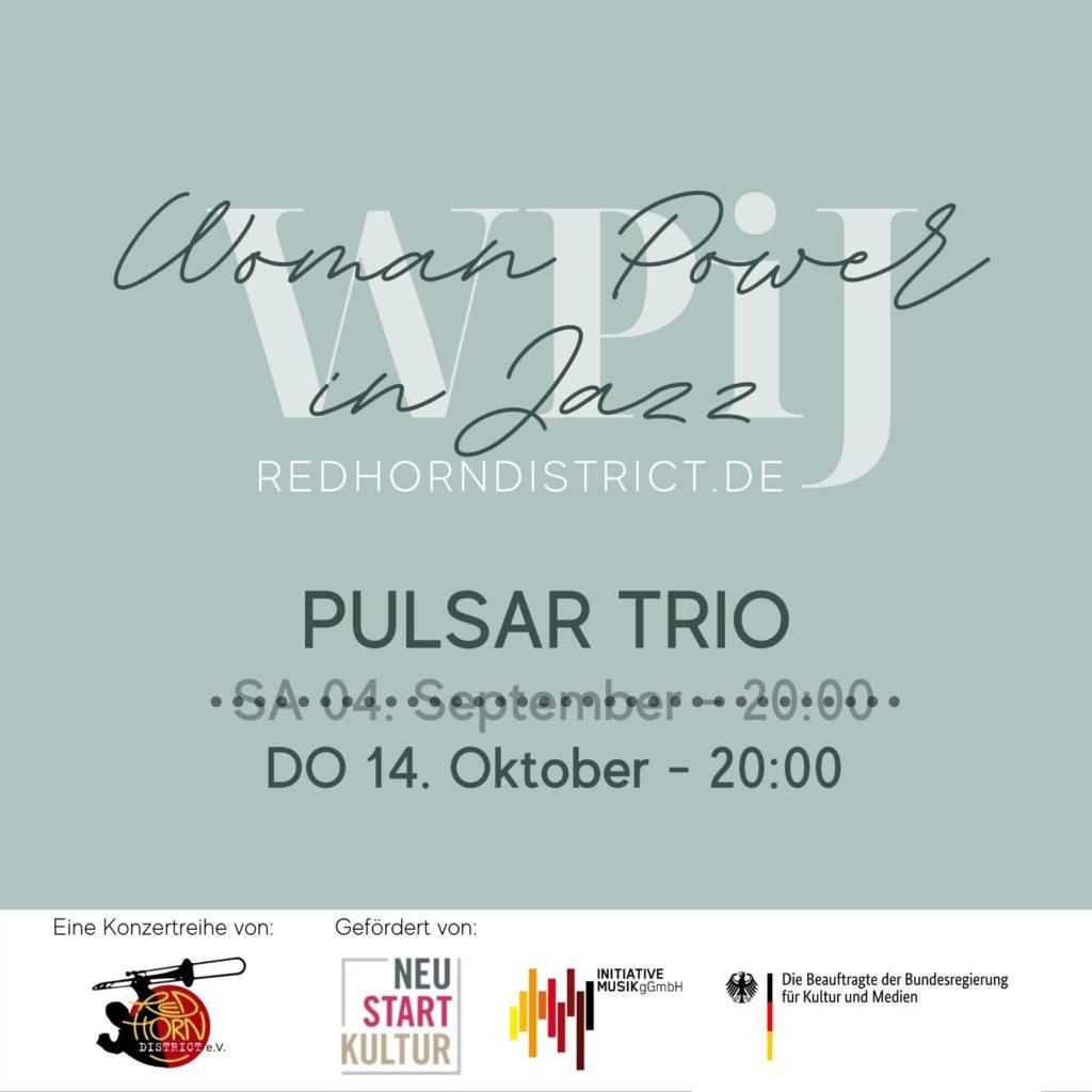 DO, 14. Okt. 2021: PULSAR TRIO