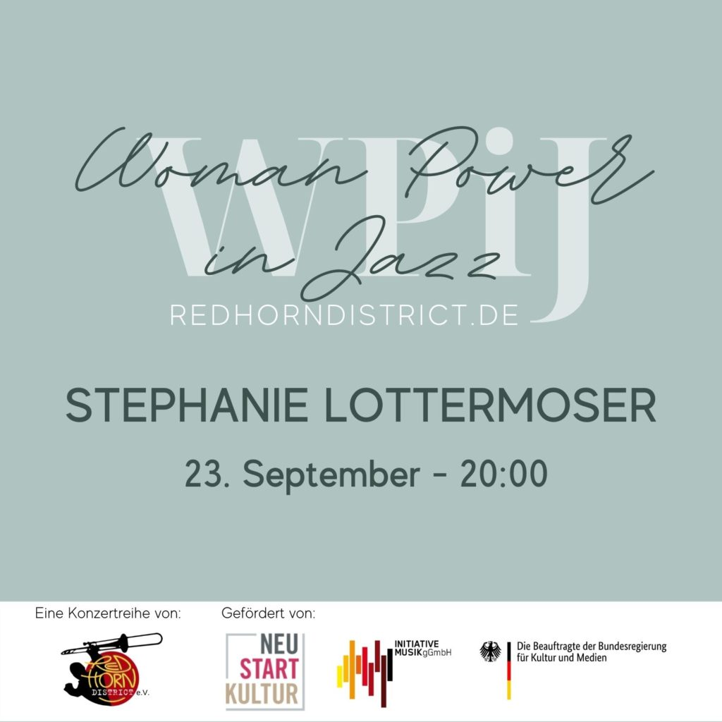 Donnerstag, 23. Sept. 2021: Stephanie Lottermoser