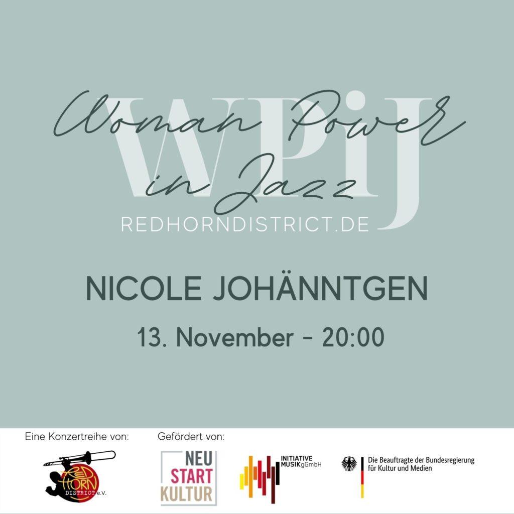Woman Power in Jazz - Nicole Johänntgen