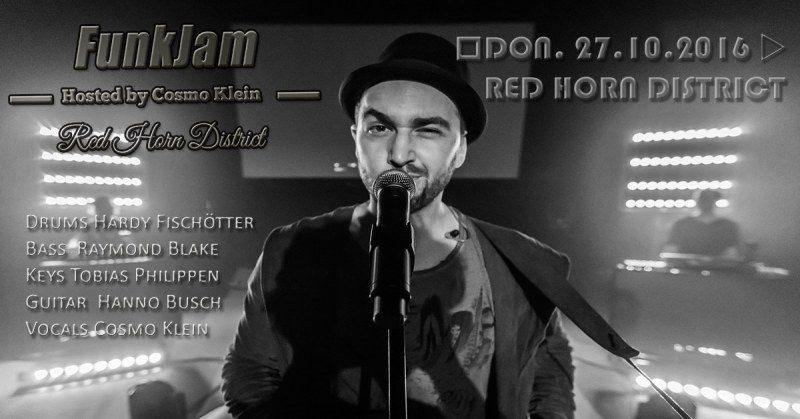 Donnerstag, 27. Oktober 2016 - FunkJam mit Cosmo Klein