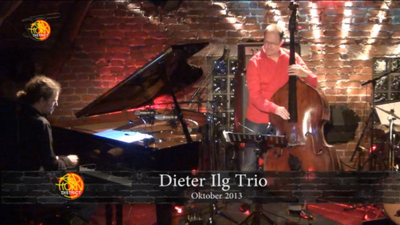 Samstag, 19. Oktober 2013 - Dieter Ilg Trio