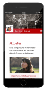 Red Horn District App